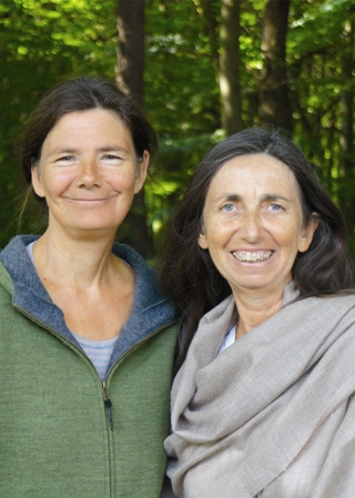 Margret de Backere und Steffi Höltje